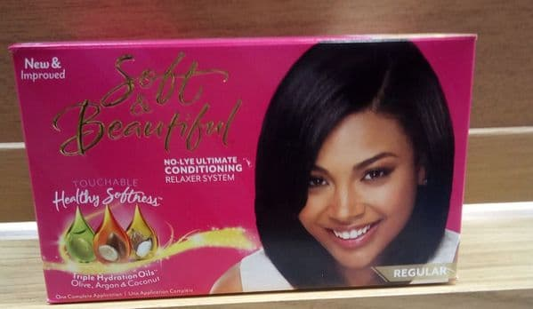 Soft & Beautiful Ultimate Protection No-Lye Creme Hair Relaxer System